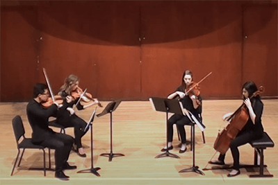 Bishop String Quartet Viva la Vida by Coldplay